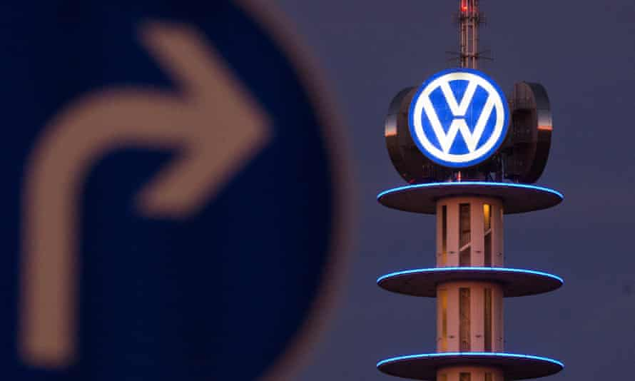 The VW Tower in Hanover, Germany.