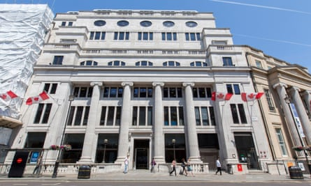 The headquarters of the Serious Fraud Office in central London.