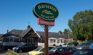 Harvester is one of Mitchells and Butlers' brands.
