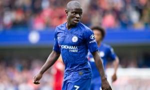 N'Golo Kanté is key to Chelsea's success.