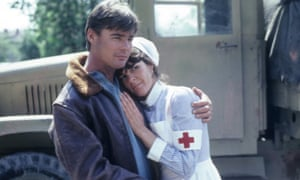 Jan-Michael Vincent with Ali McGraw in The Winds of War, 1983.