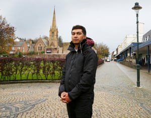 Abdul Kalam Azad, a Bangladeshi man trafficked to Scotland