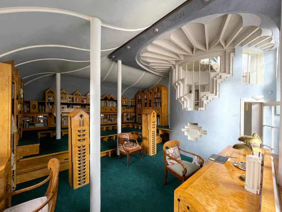 The Cosmic House's library