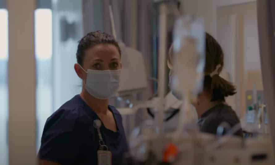 A still from Oscar-winning director Alex Gibney's new documentary, Totally Under Control.