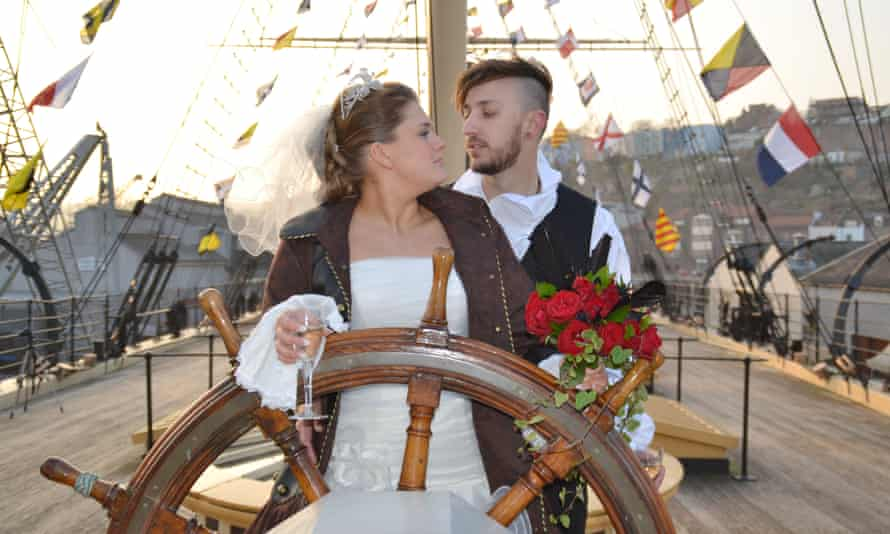 'But you said you loved boats!' … Don't Tell The Bride.