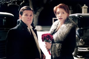 'I internalised the issues' … Howard with Willem Dafoe in Lars von Trier's Manderlay.