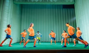 'This team is completely itself': The Wolves at Theatre Royal Stratford East.