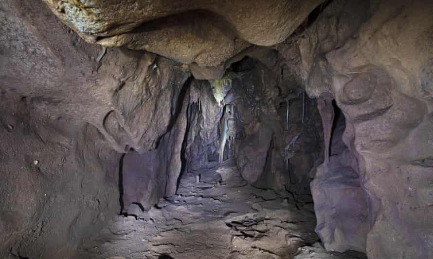The Vanguard cave, part of the Gorham's Cave complex, where the discovery was made
