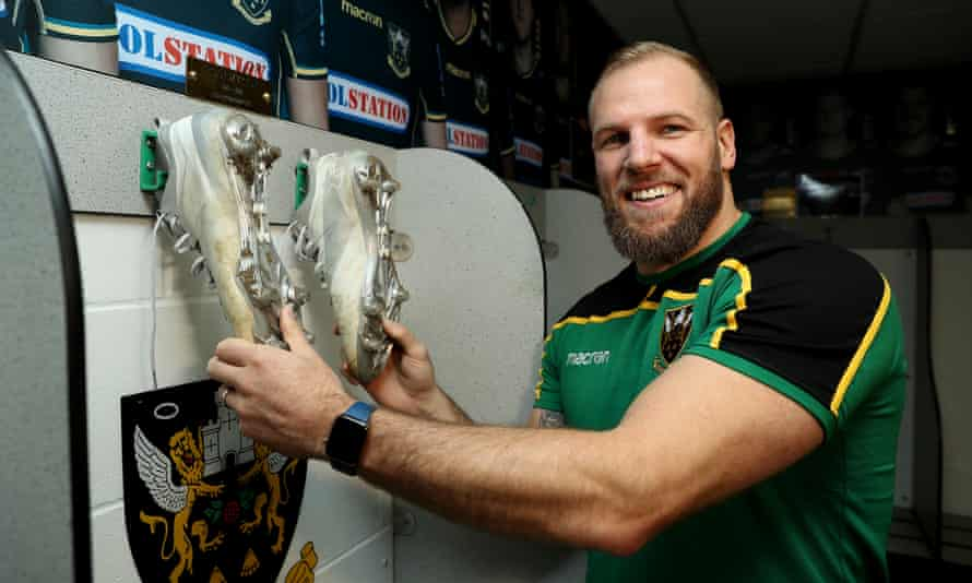 James Haskell hangs up his boots at Northampton. He was capped 77 times for England during an illustrious career.
