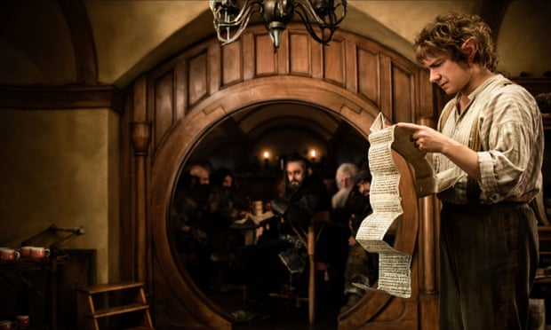 Martin Freeman as Bilbo Baggins in The Hobbit: Unexpected Journey