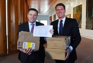 Australian Conservatives Senator Cory Bernardi and Australian Christian lobby managing director Lyle Shelton are prominent opponents of same-sex marriage.
