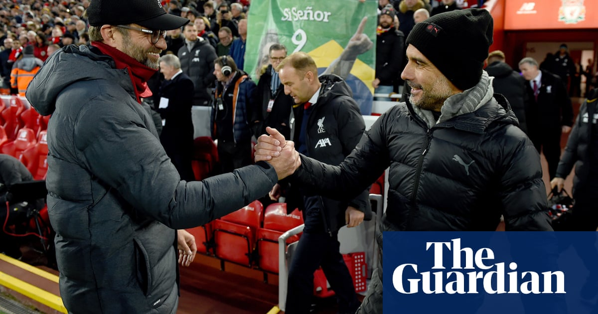Manchester City raised the bar for us, admits Liverpool's Jürgen Klopp