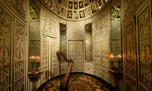 V&A's new European galleries: mirrored room from 18th-century Italy