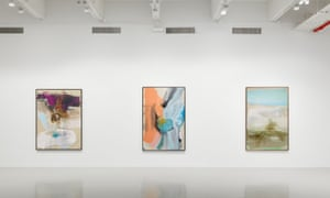 Exhibits by Ed Clark in the touring exhibition Soul of a Nation, as shown in 2018.