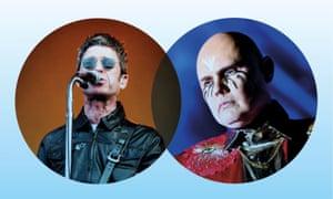 Noel Gallagher and Billy Corgan