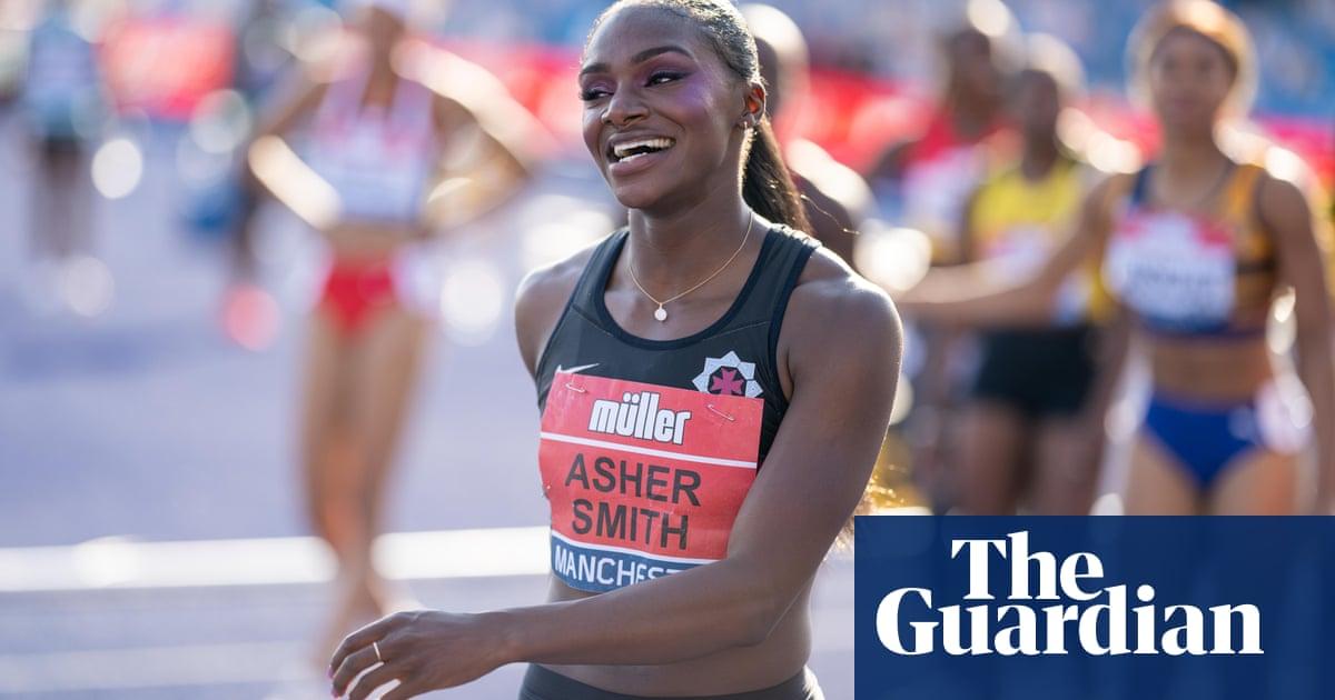 Dina Asher-Smith has same aura as sprint star Linford Christie, says coach