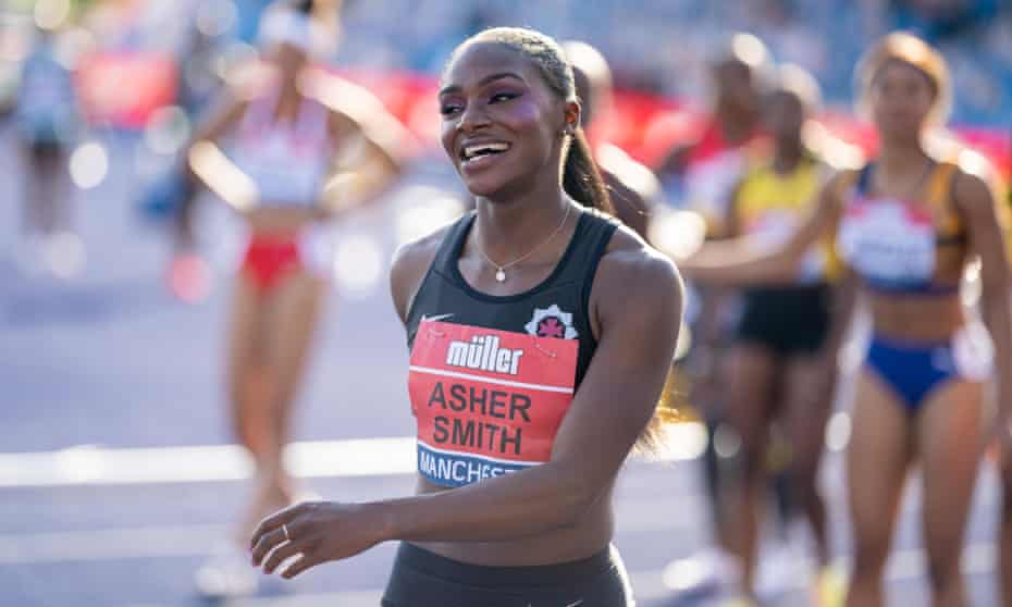 Dina Asher-Smith would need to break her 100m personal best of 10.83 sec to win Olympic gold, says Christian Malcolm.