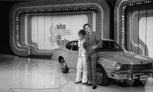 A shot from the US TV show The Price is Right