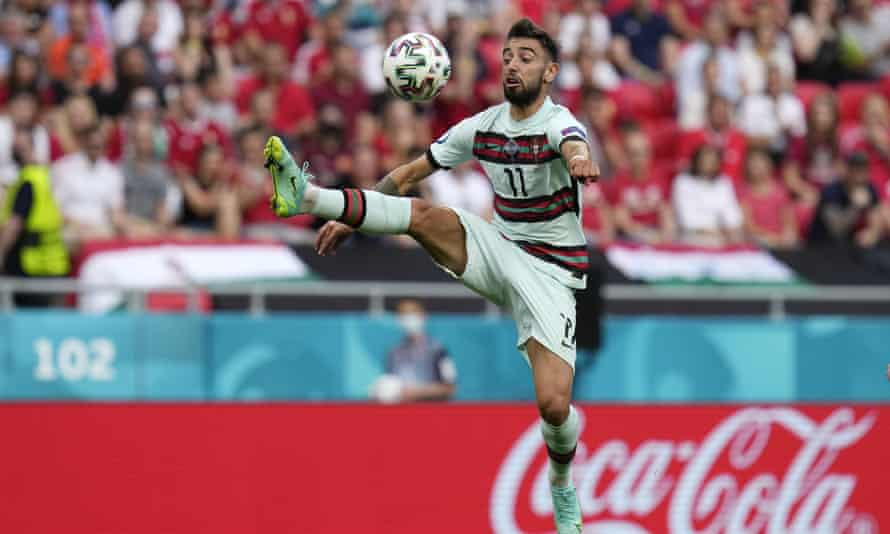 Bruno Fernandes is part of a Portugal midfield that oozes creativity.