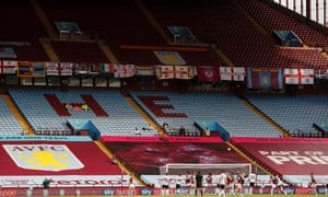 Villa Park with empty stands