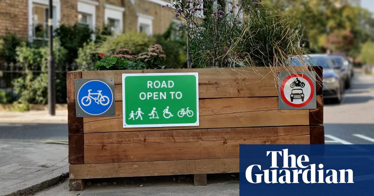 London council to step up security as vandals target low-traffic zones