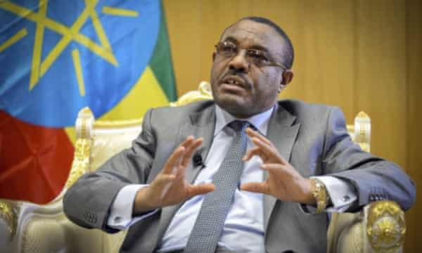 Hailemariam Desalegn.