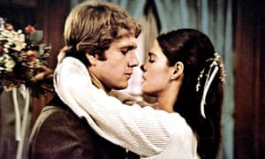 Ryan O'Neal and Ali MacGraw in Love Story (1970).