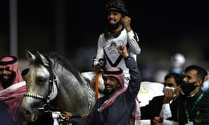 Negara ini telah menghabiskan $ 60 juta sendirian untuk Piala Saudi, acara pacuan kuda terkaya di dunia.