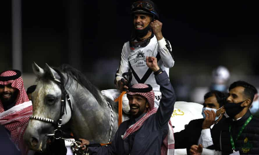 The country has spent $60m alone on the Saudi Cup, the world's richest horse-racing event.