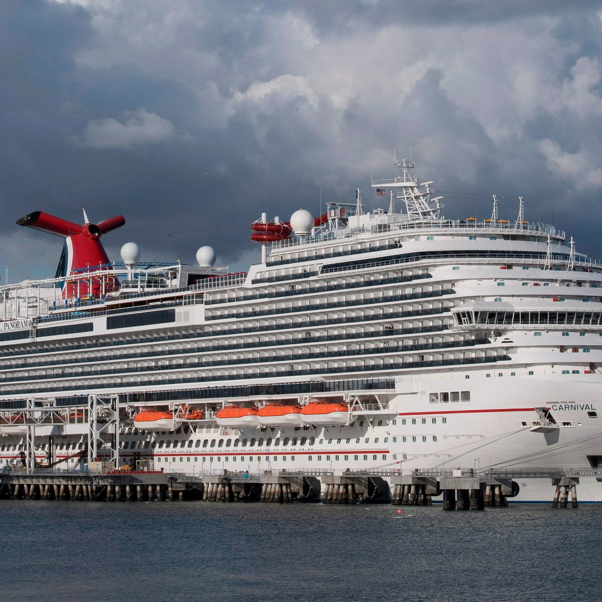 Carnival To Sell Six Cruise Ships As Bookings Dry Up Business The Guardian