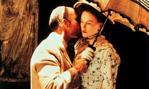 John Malkovich as Gilbert Osmond and Nicole Kidman as Isabel Archer in Jane Campion's film of The Portrait of a Lady.