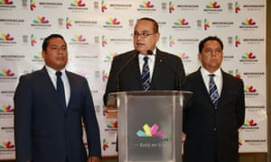 A top Michoacán state official announces Adame's death.