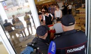 Russia Scientology church raid