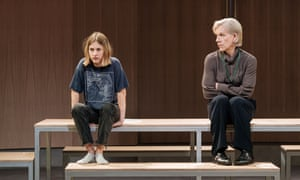 Ria Zmitrowicz and Juliet Stevenson in The Doctor at the Almeida.