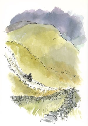 Illustration from My Year (July) © Quentin Blake 1993 copy