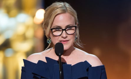 'I knew there was going to be some drama' ... Patricia Arquette at this year's Oscars ceremony.