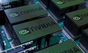 The logo of Nvidia Corporation.