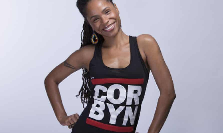 Jeremy Corbyn T-shirt.