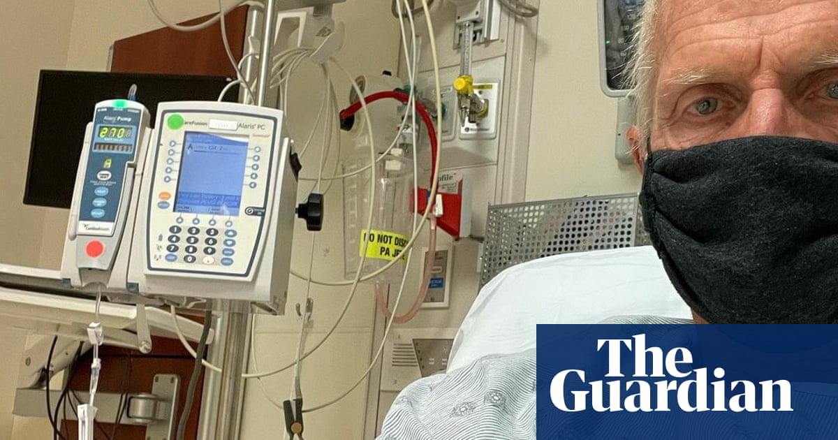 Greg Norman back in US hospital with hideous Covid-19 symptoms