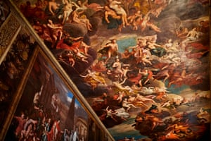 Ceiling in the Painted Hall of Chatsworth House