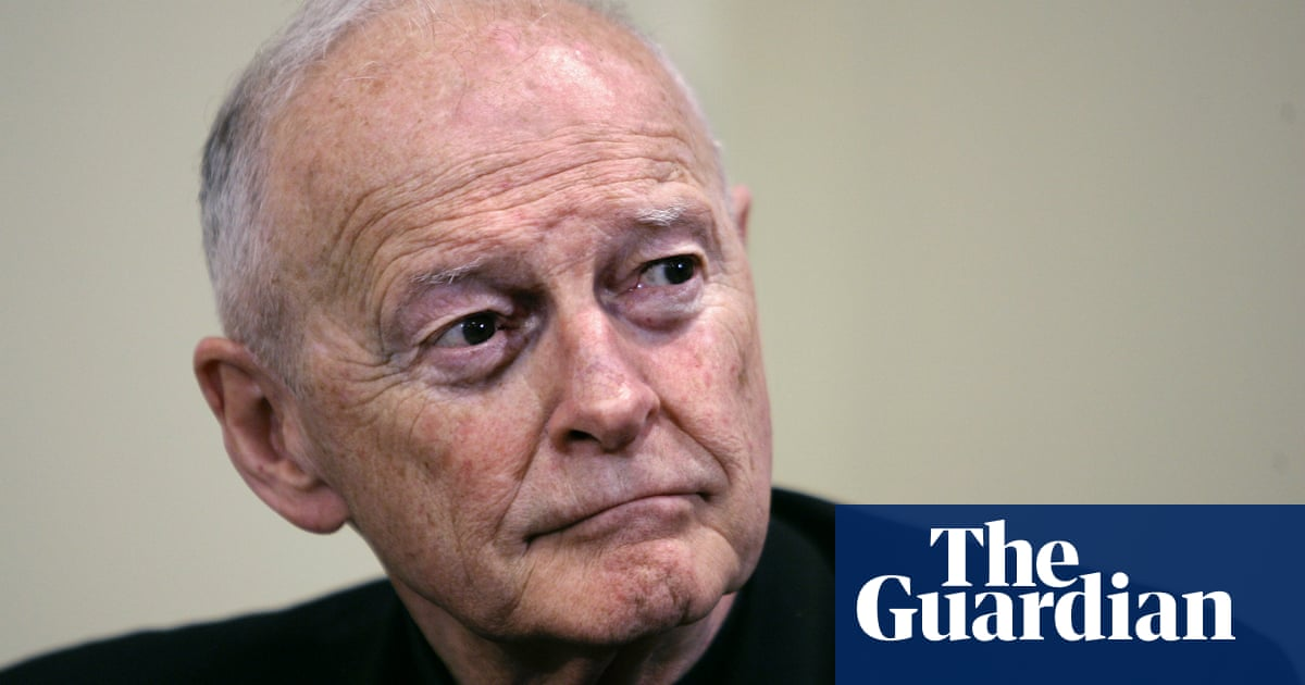 Former cardinal Theodore McCarrick pleads not guilty to sexual assault
