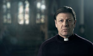 Familiar, rough-edged charm … Sean Bean in Jimmy McGovern's Broken on the BBC.
