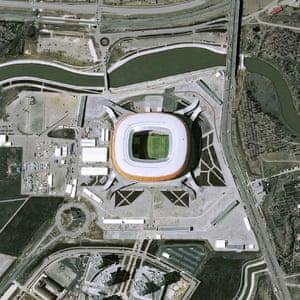 The Saransk Mordovia Arena