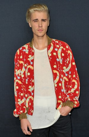 "Justin Bieber: the plain white T-shirt of his dreams ""literally didn't exist in the marketplace""."