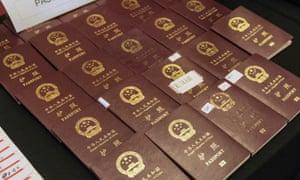 Chinese passports