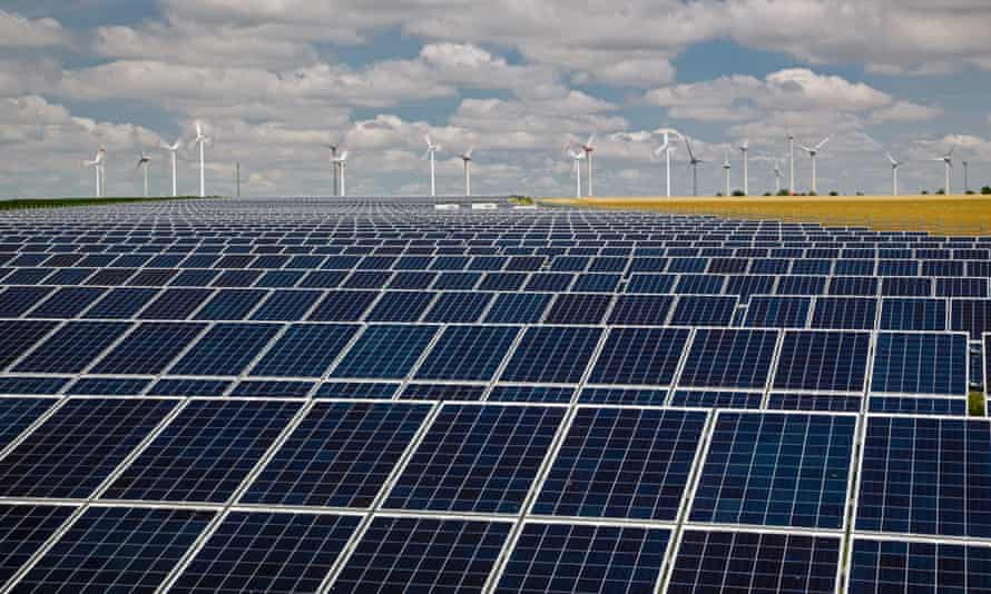 Onshore wind and solar farms, Germany
