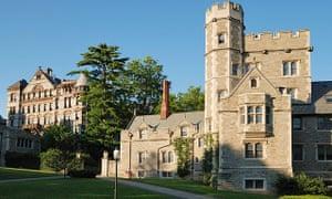 Princeton University campus.