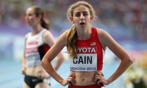 Mary Cain competed in the World Athletics Championships for Team USA at the age of 17.