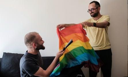 LGBT activists organising Georgia's first pride week
