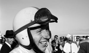 A happy John Surtees after the 1964 Mexican Grand Prix, when he became world champion